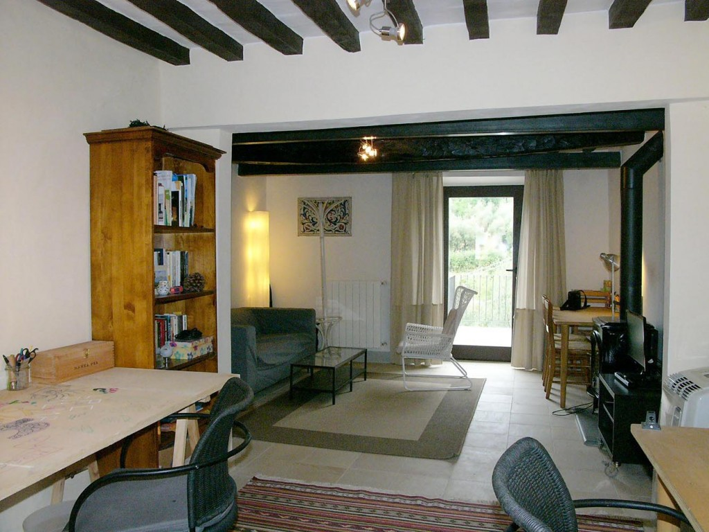 1st floor study+ Living+balcony